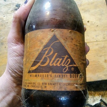 Unopened vintage beer - Bottles