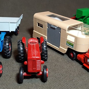 More Mulch and Manure Matchbox Monday King Size Farm Equipment - Model Cars