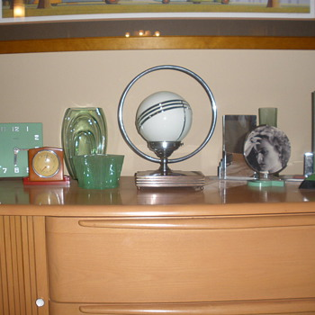 Some of My Art Deco Collection - Art Deco