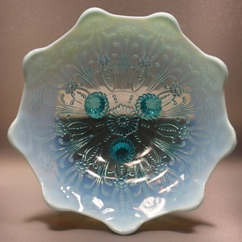 Northwood Glass - Pearl Flowers Bowl - 1903-1904 - Glassware