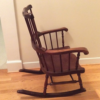 Rocking chair from a convent