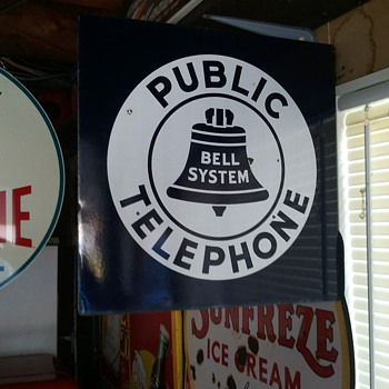 Bell Telephone sign - Signs
