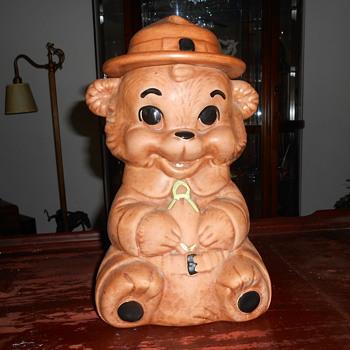 bear cookie jar - Kitchen
