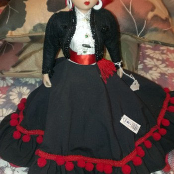 Marin Porcelain Doll - Dolls