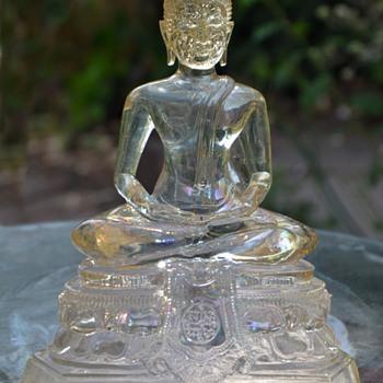 Clear glass Buddha - Avolokiteshvara