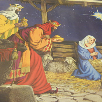 Douglas Fir Advertising Philipp Sales Inc. Nativity - Advertising
