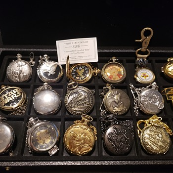 My pocket watch collection - Pocket Watches