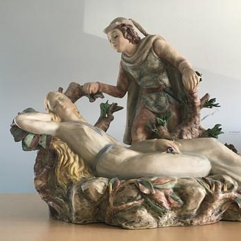 Italian sculpture - Figurines