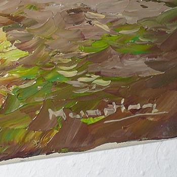 landcape by unknown painter... munning? - Fine Art
