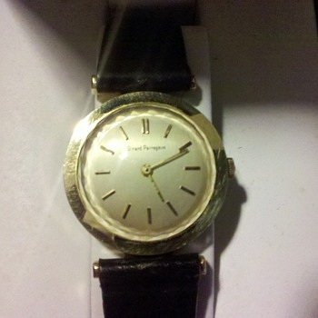 Need Help on model and year of this gold watch