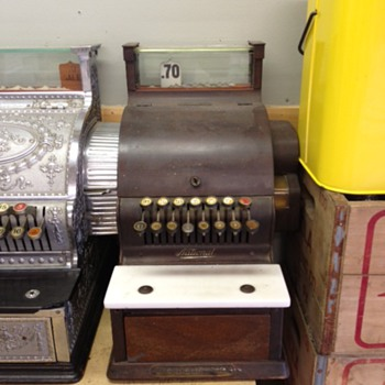 Candy National Cash Register - Coin Operated