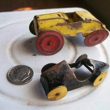 Tiny Tin Cars - Model Cars