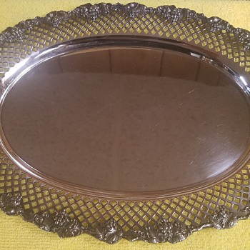 Silver Tray-  E.G. Webster & Brother 1865-1866? - Silver