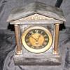 Antique Mantle Clock Marble