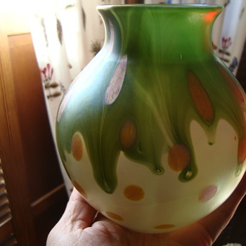 Loetz Vase...another group of pictures - Art Glass
