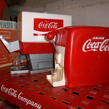 Old Coca-Cola toy dispencers - Coca-Cola