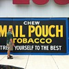 Giant Mail Pouch Tobacco sign (Harley Warrick)