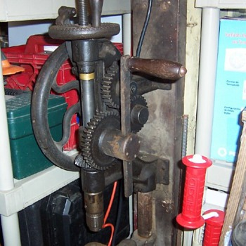 Vintage Drill Press - Tools and Hardware
