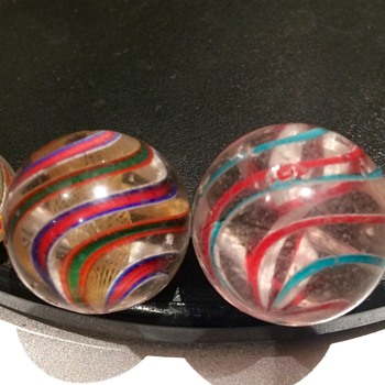 Some hand made marbles?