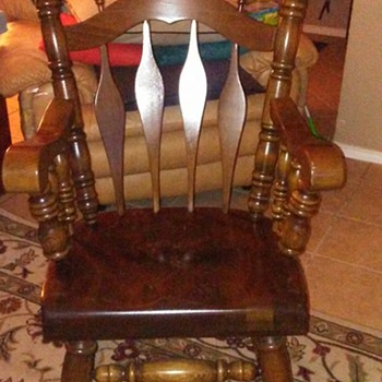 My Yugoslavian Rocking Chair