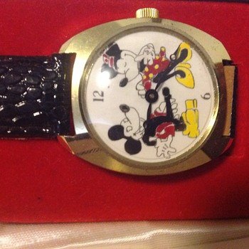 Mickey & Minnie Vintage Watch - Wristwatches