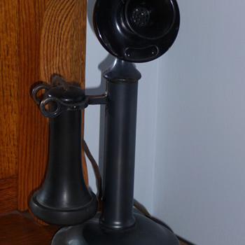 Western Electric 40AL Candlestick Phone - Telephones