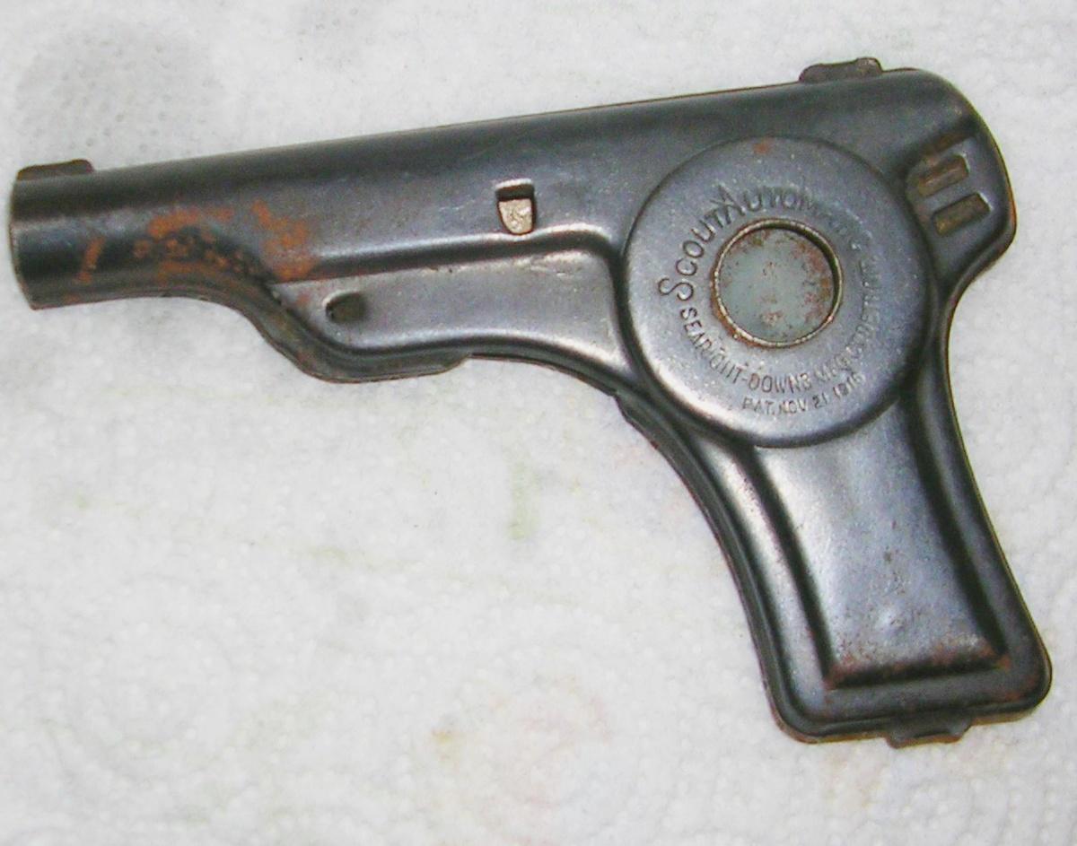 22101 Small Pirate Silver 4x Gun