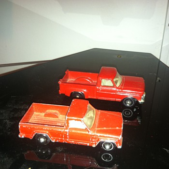 Jeep and Ford Matchbox trucks... - Model Cars