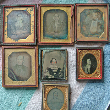 This is the set we have of relatives, marked 1848 only 1 name - Photographs