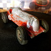 Hubley Aluminum Die Cast #5 Racer / 2-457 - Driver Missing
