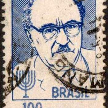 "Brazil - ""Zalmar Shazar"" Postage Stamp - Stamps"