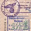 1940 Lithuanian MEMEL consular passport