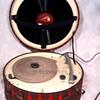 HOOT MON! EMERSON Tartan Plaid Record Player