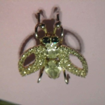 Little Fly Brooch  - Costume Jewelry