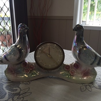 Jema Holland Large Double Pigeon Clock numbered (427)