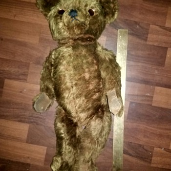 Antique teddy bear unknown manufacturer