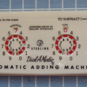 Sterling Products 50s Era Adding Machine... - Office