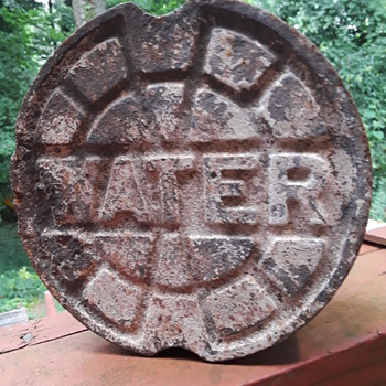 another cast iron WATER thing - Tools and Hardware