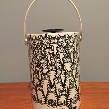 Kliban Cat Ice Bucket - does anyone have info? - Animals