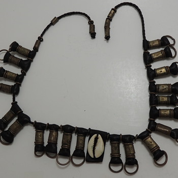 Some type of tribal necklace?