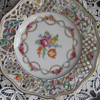 Schumann Vintage Plate - China and Dinnerware