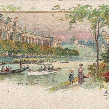 FAIRS & EXPOSITIONS - Postcards