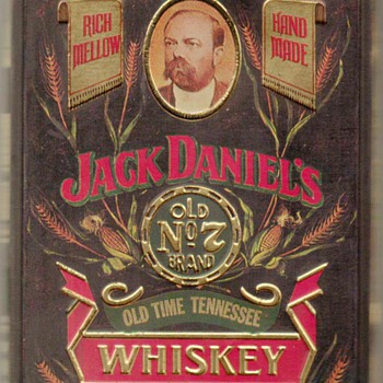 1980's - Jack Daniel's Whiskey Tin Box - Advertising