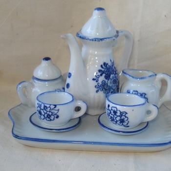 MINI TEA SET :) - Pottery