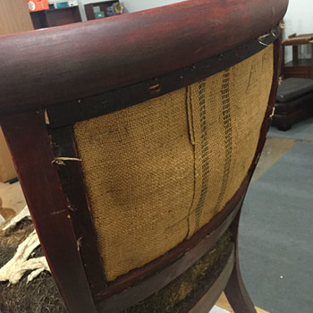 Identify Age and Wood Antique Curved Chair