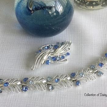 """Coro — 1960s """"Silver"""" Sets  - Costume Jewelry"""