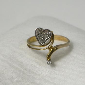 Diamond Heart Ring - Fine Jewelry