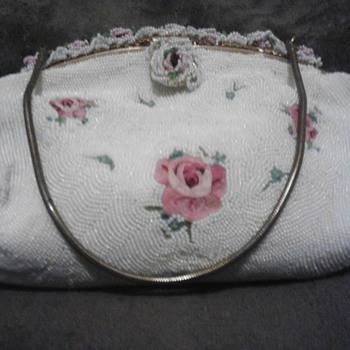 beaded hand bag - Bags