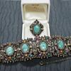 Selro Selini?  Costume Jewelry Bracelet and Ring
