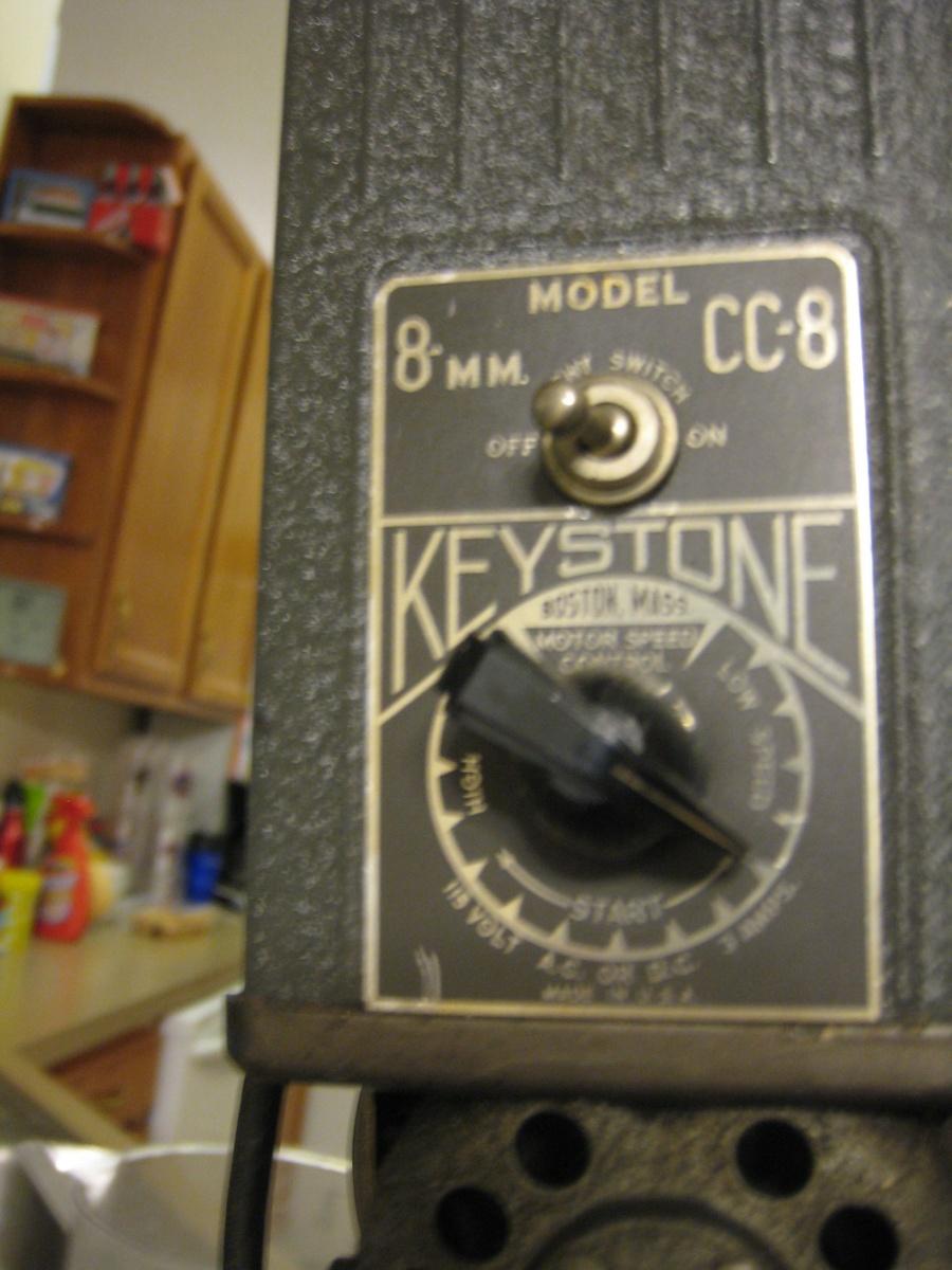 Keystone CC-8 8 mm projector   Collectors Weekly